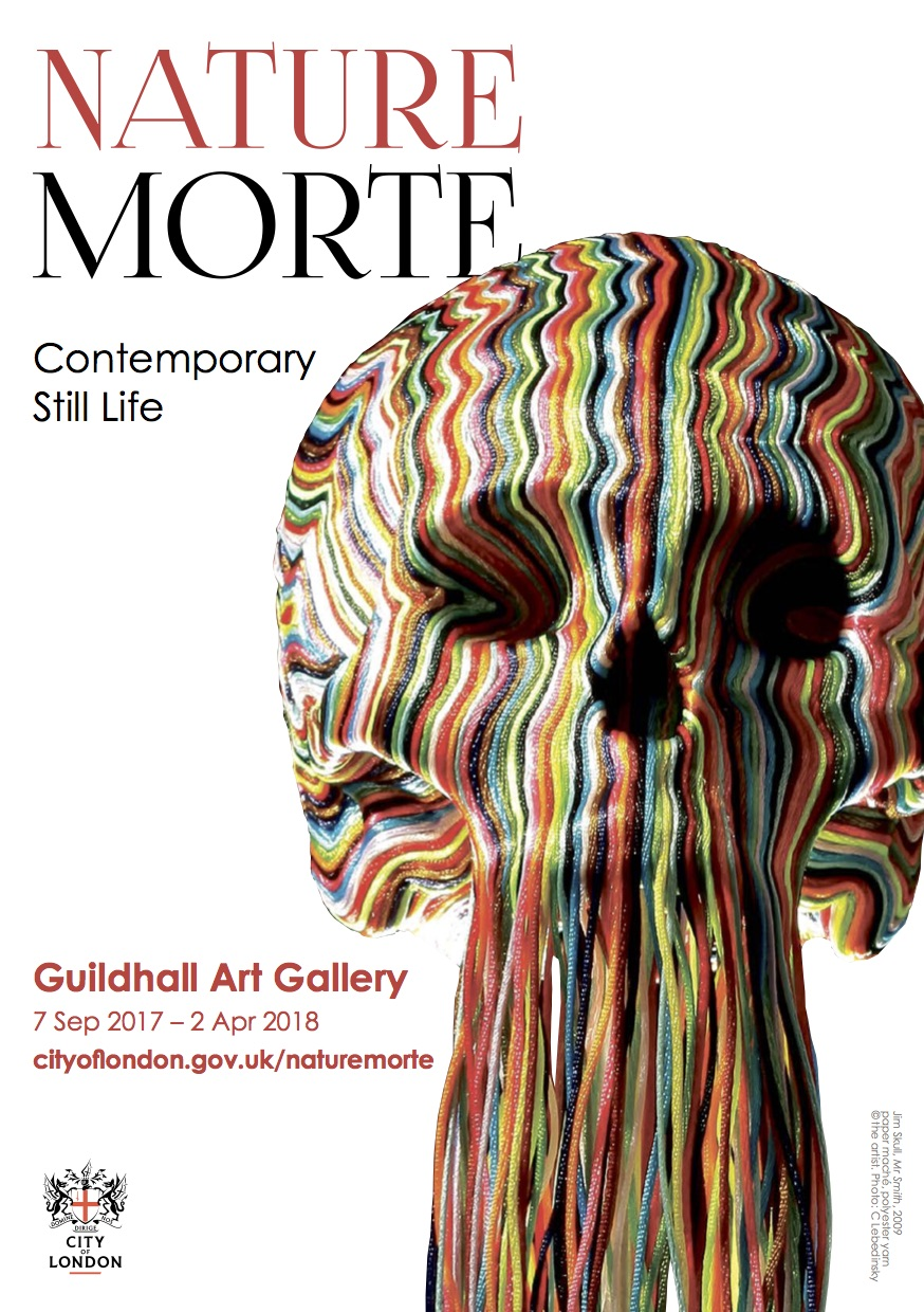 Nature Morte - Contemporary still life7 September 2017 - 2 April 2018Guildhall Art GalleryLondon, EnglandCurated by Michael Petry, Robeto Eckholm & Katherine Pearce
