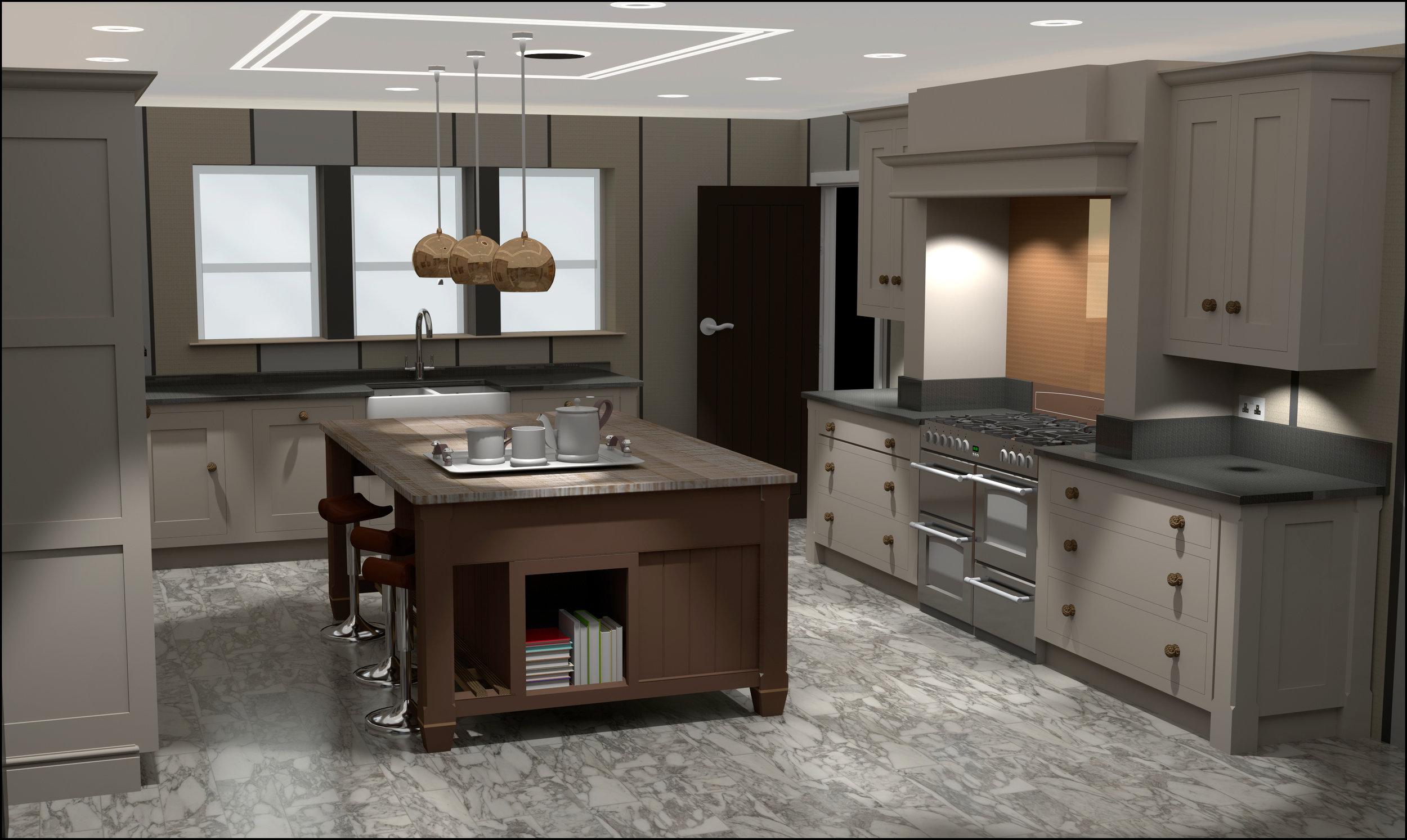 CGI kitchen concepts — Drew Forsyth & Co