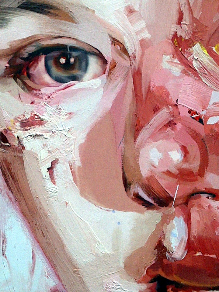Painting by Jenny Saville 2015