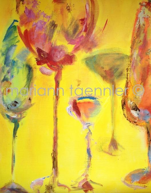 sunny side up - oil on canvas 45x60x2 cm, auf Keilrahmen