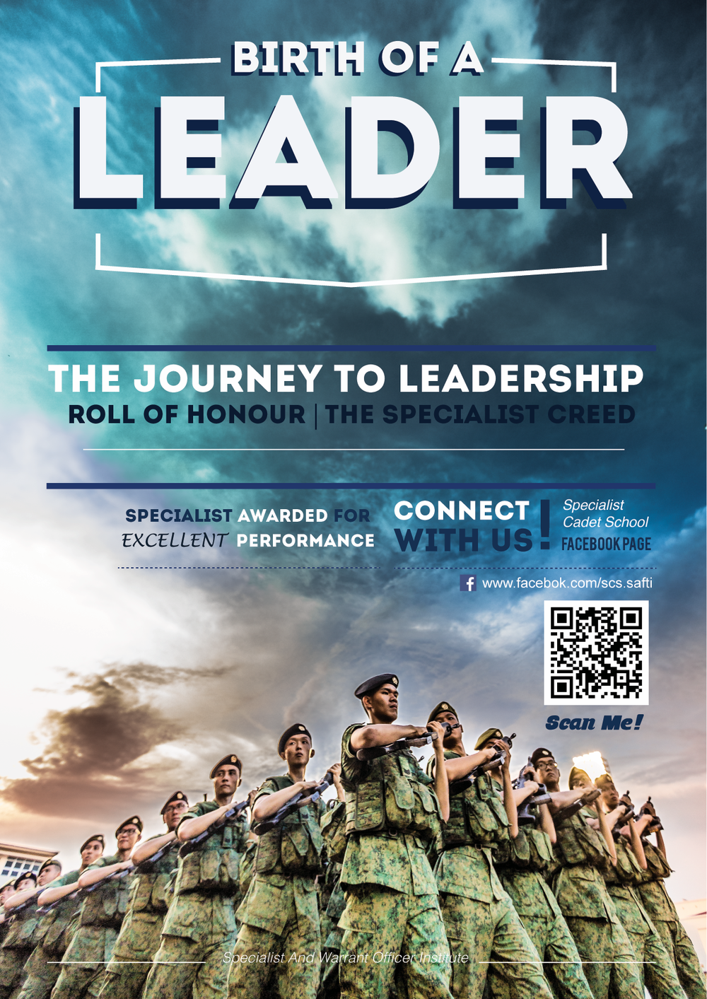 """The Pride""  featured as the coverpage photo on  ""Birth of a Leader"" , a quarterly magazine for the Specialist and Warrant Officer Institute (SWI), Singapore Armed Forces."
