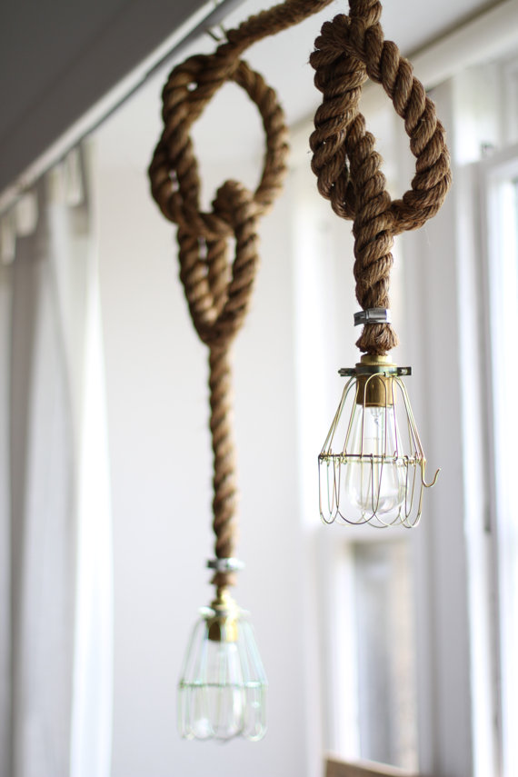 Edison Bulb Rope Light — Fallen Tree Workshop