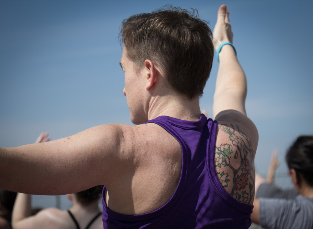 Yoga on the bridge — Dallas, TX | 3Tree Yoga