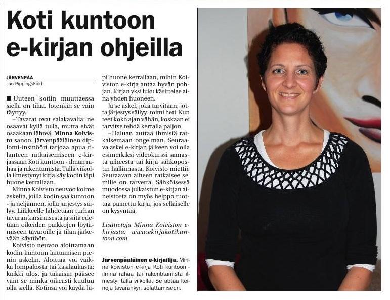 20140927a Tuusulanjärven viikkouutiset.jpg