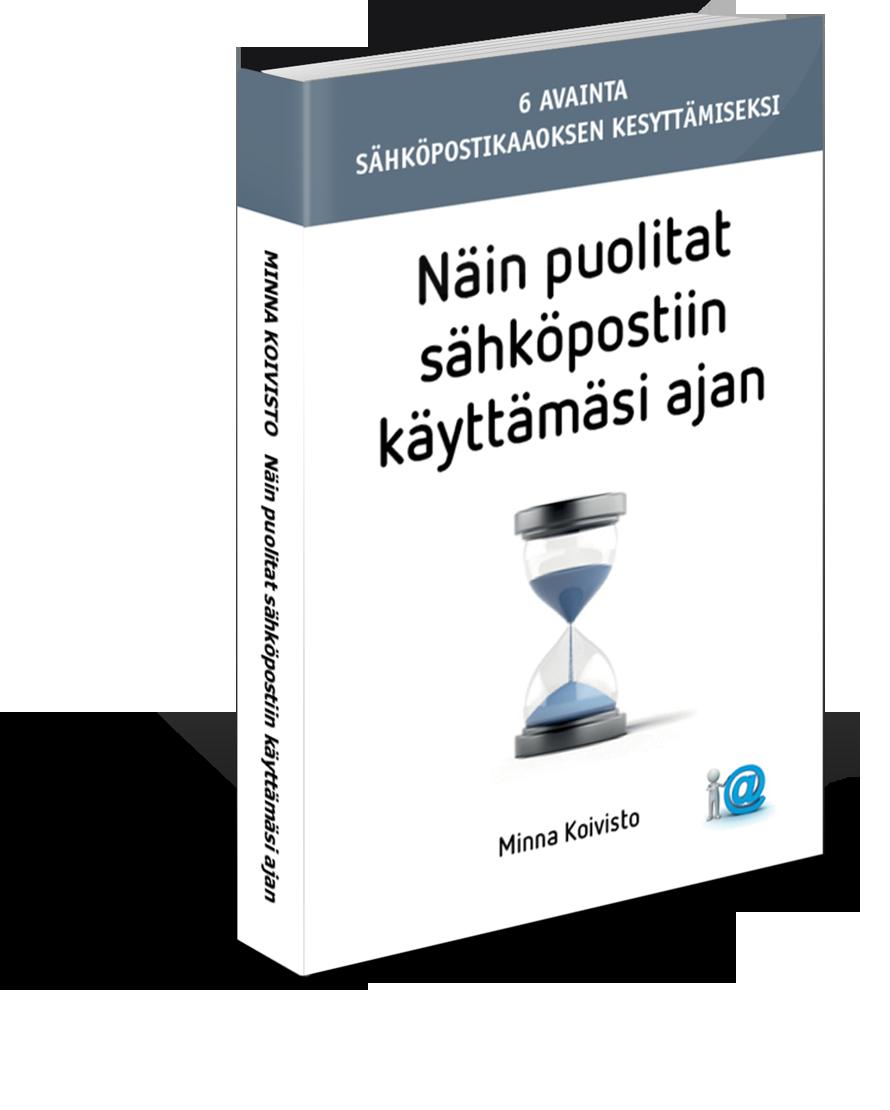 Koulutus perustuu kirjaan Näin puolitat sähköpostiin käyttämäsi ajan.