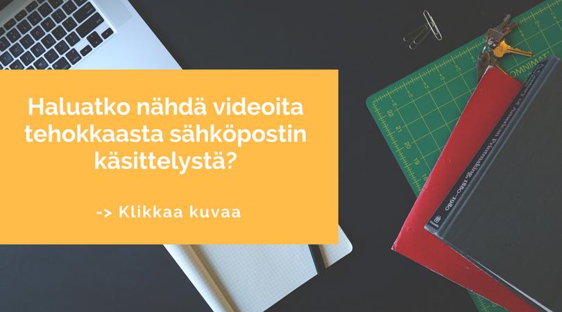 Sähköpostin hallinta - Minna Koivisto