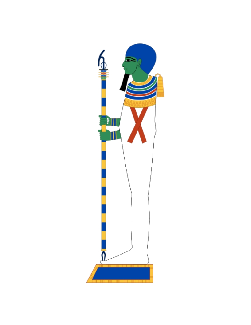 Figure 3.9. Ptah on his plinth.