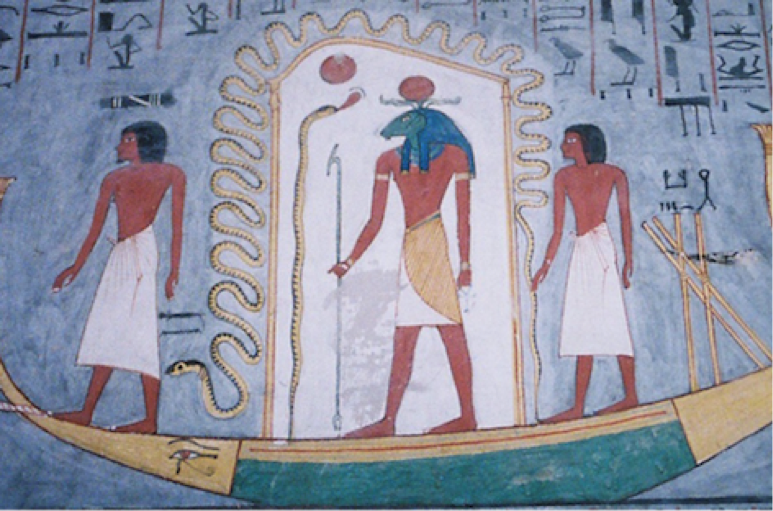 Figure 7. Snake representation in Ancient Egypt circa 15,000 years ago.