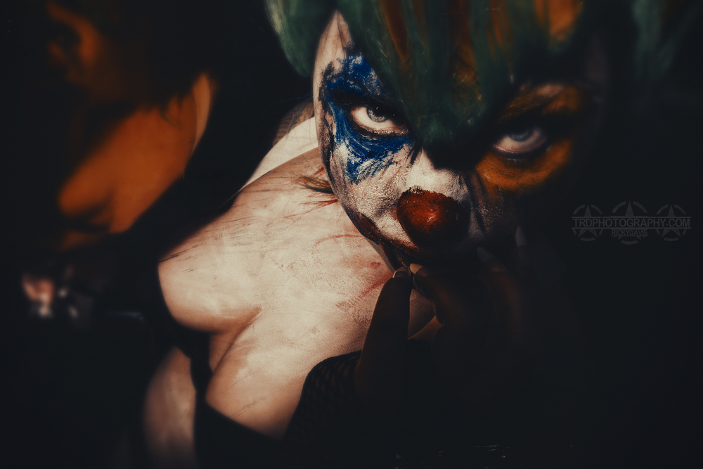 Coulrophobia - The Series - It's just the Beginning... Model Raven Lee - Photo TRD Photography