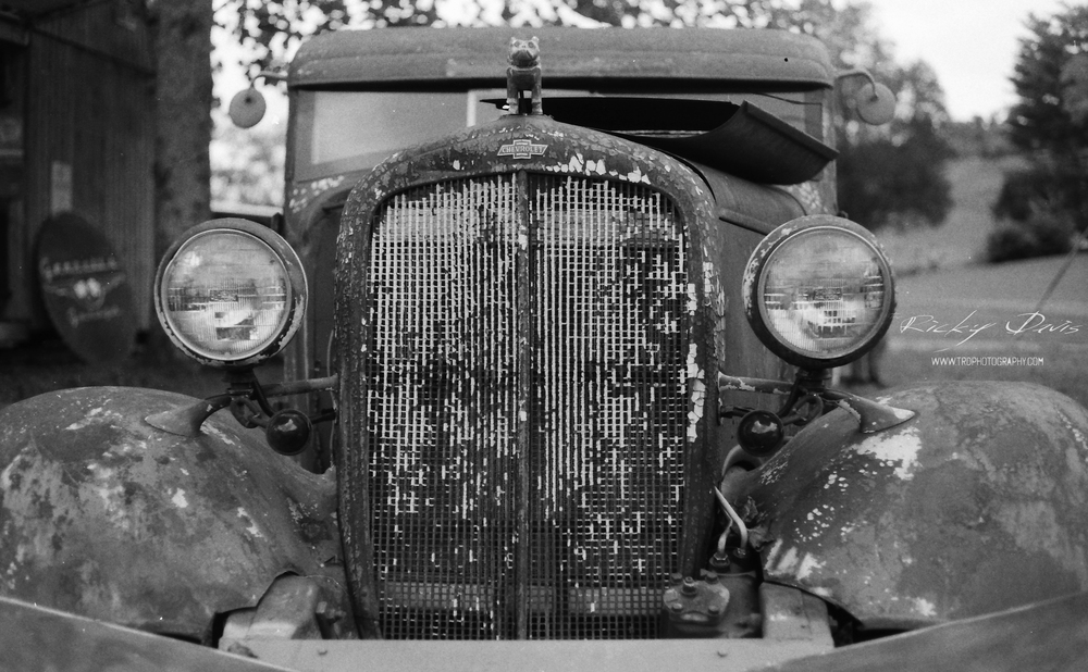 Rat Rod - Worlds Longest Yard Sale - Film - Expired Neopan SS - Camera - Minolta XG 1 - Photographer Ricky Davis