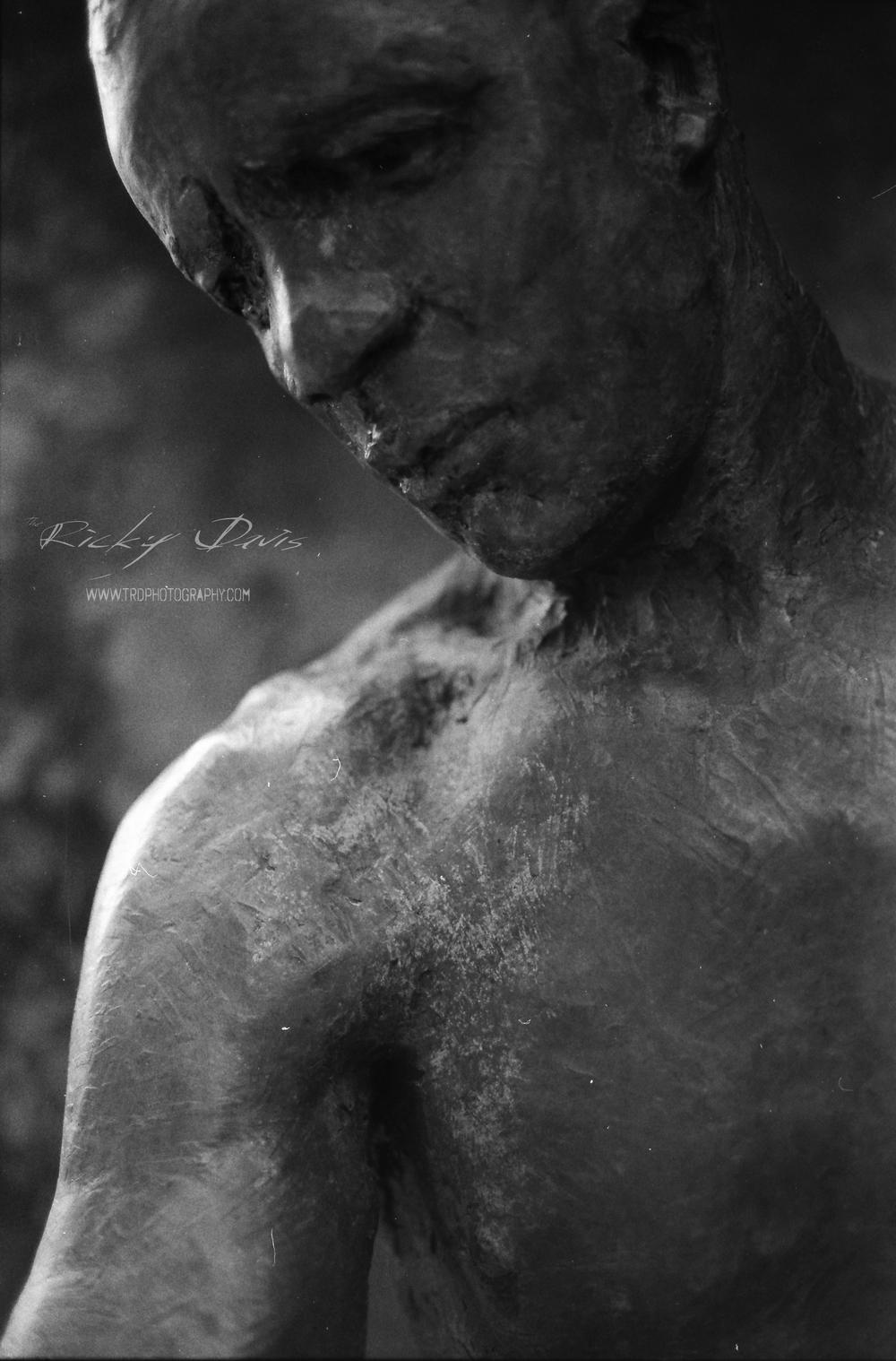 Street Sculpture in Chattanooga, TN - Film - Expired Neopan SS - Camera - Minolta XG 1 - Photographer Ricky Davis