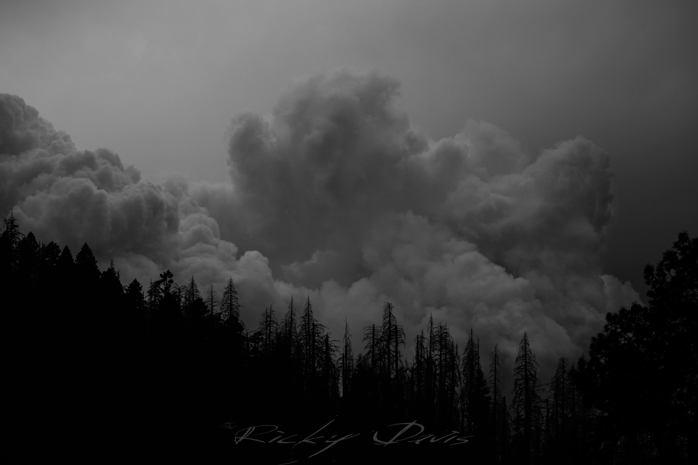 California Wildfire Smoke - Photo by Ricky Davis of TRD Photography - Canon 6D