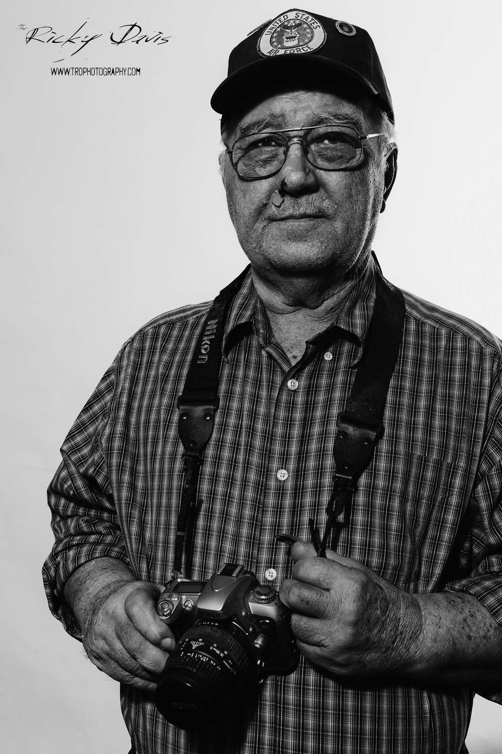 Vietnam Veteran Combat Photographer - Staff Sgt. Bill Potter - Photo - Ricky Davis of TRD Photography - Canon 6D.