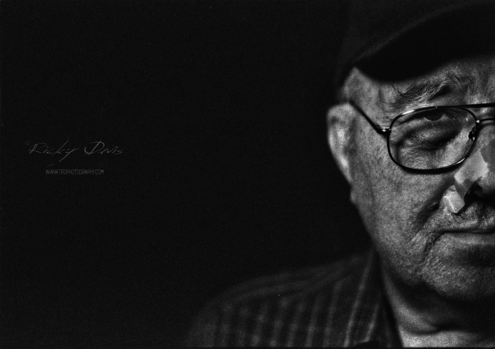 Staff Sgt Bill Potter - Photo - Ricky Davis of TRD Photography - Film - Fuji Acros 100