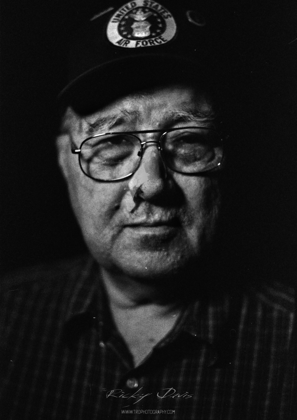 Staff Sgt. Bill Potter - Photo - Ricky Davis of TRD Photography - Film - Fuji Acros 100