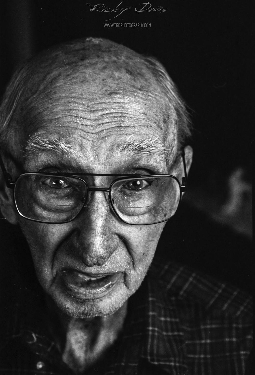 WWII Veteran - Army - Pvt Charles E. Miller - TRD Photography - Film - Kodak Tri X