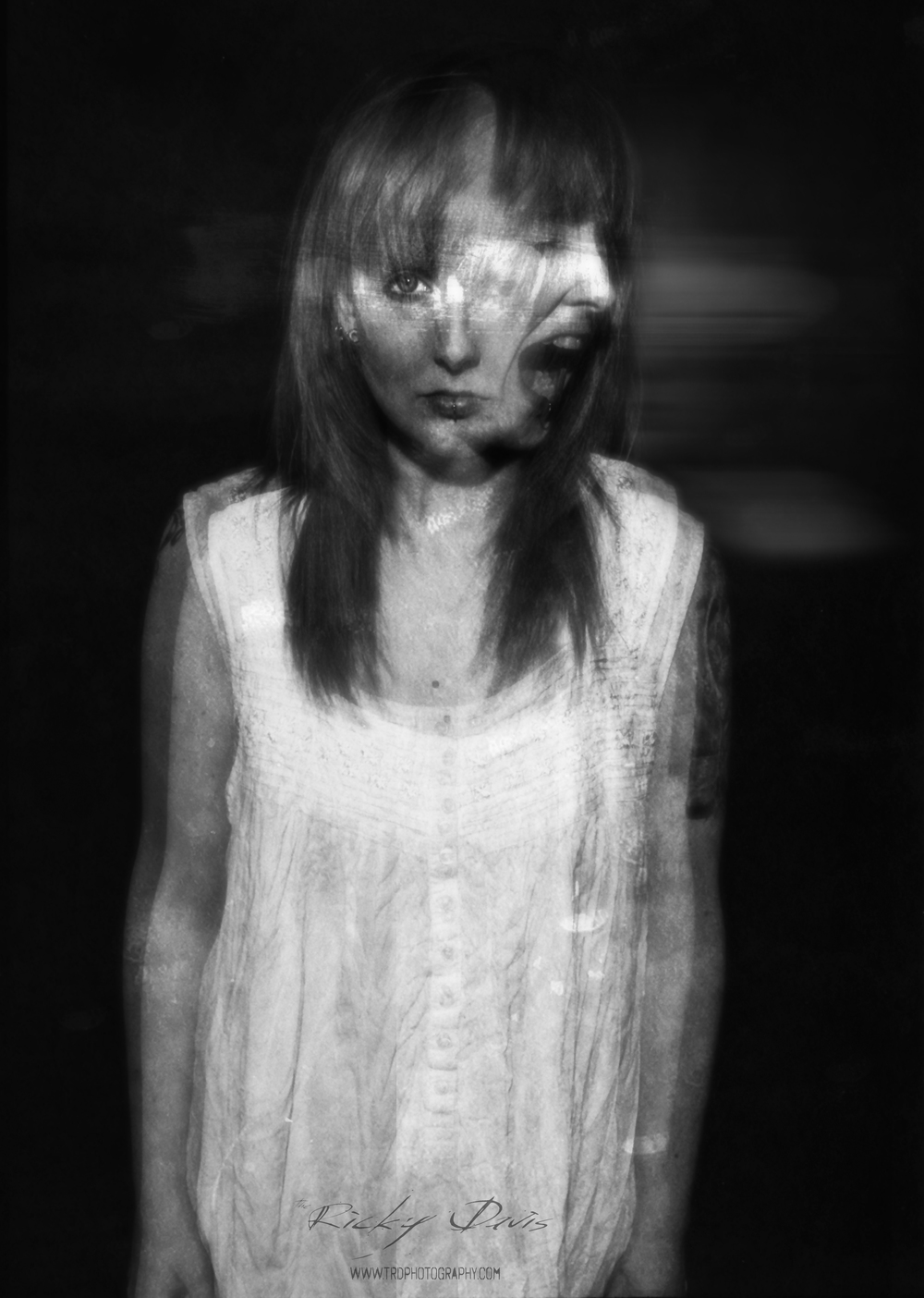 My assistant Nickie Pruitt - Film - Kodak Tri X - TRD Photography