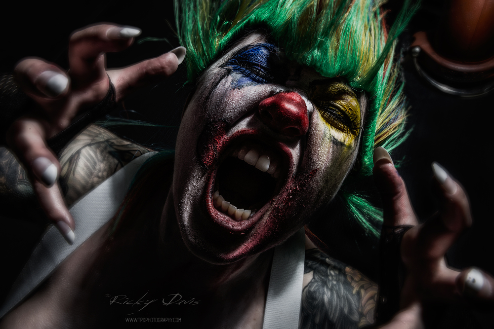 Coulrophobia - The Series - TRD Photography & Model Raven Lee