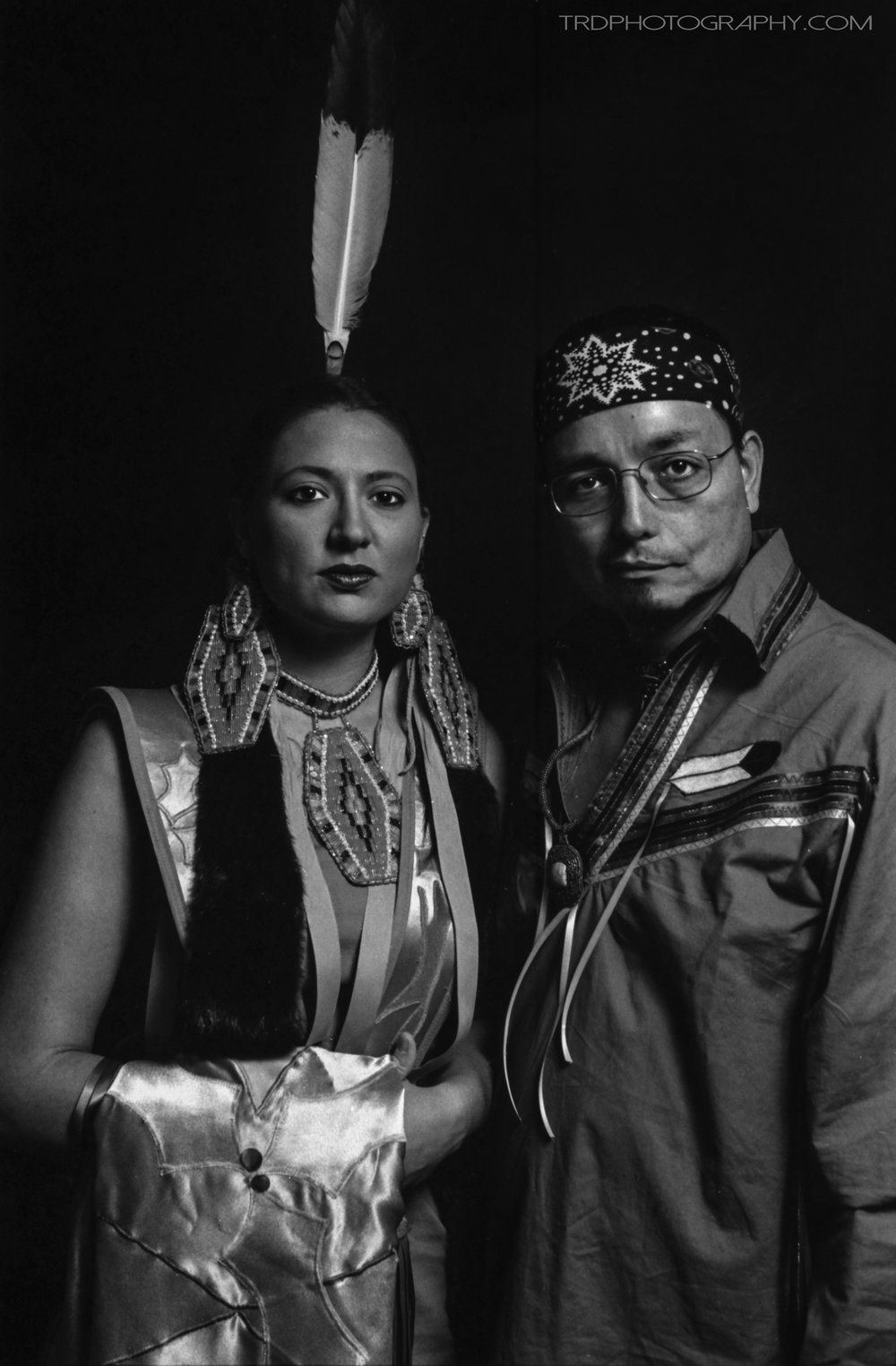Native American Portrait Series - Holly & Jeff - TRD Photography - Film