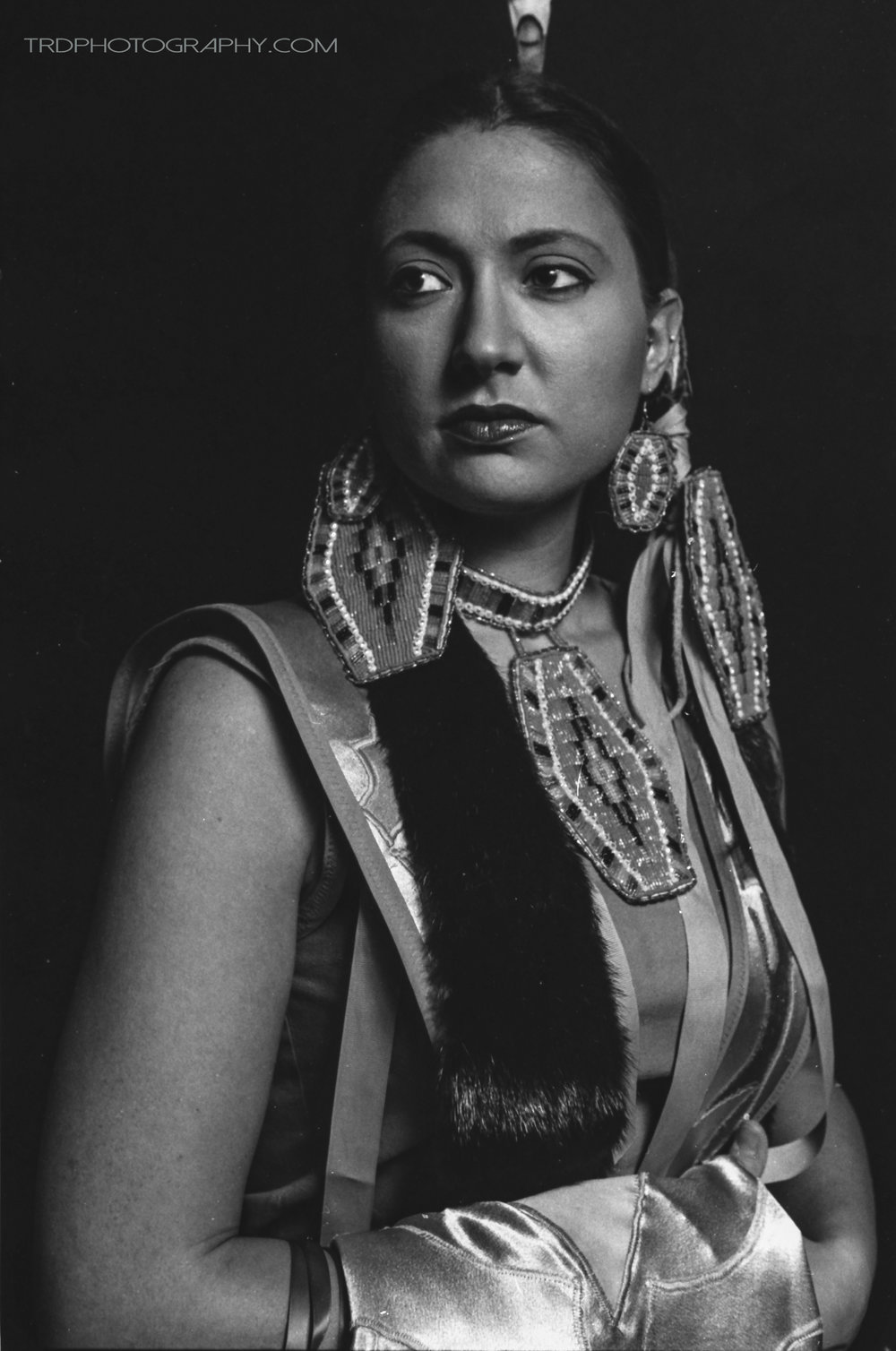 Holly Lynn - Native American Portrait Series - TRD Photography