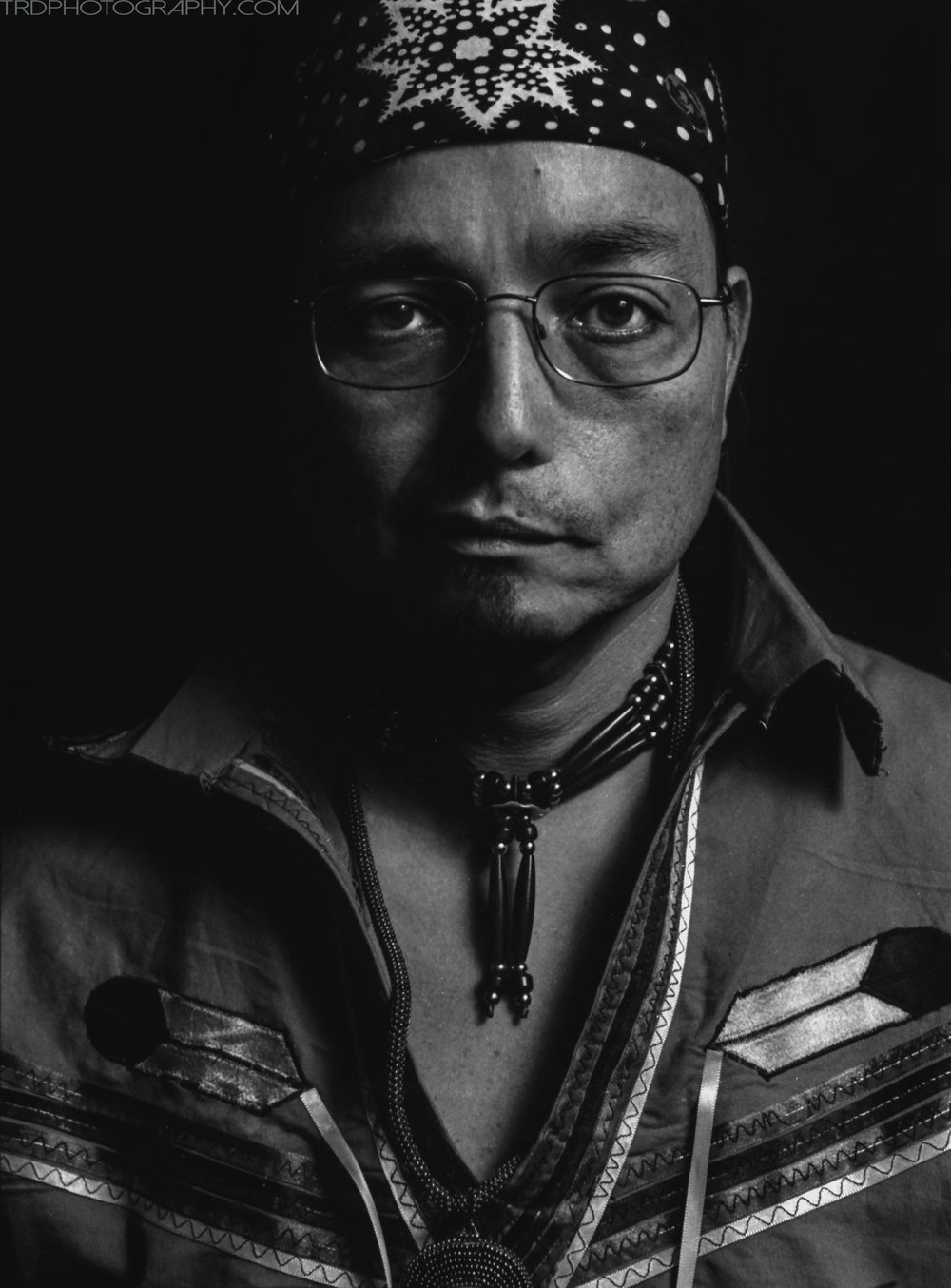 Jeff Johnson - Native American Portrait Series - TRD Photography
