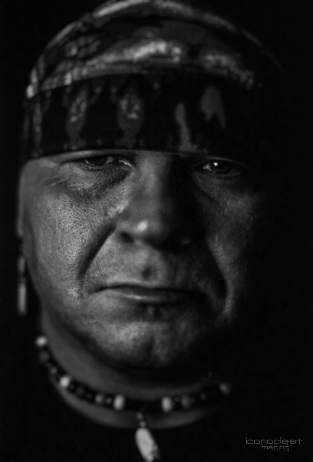 Native American Portrait Series - Wes Collins - Photographer Ricky Davis
