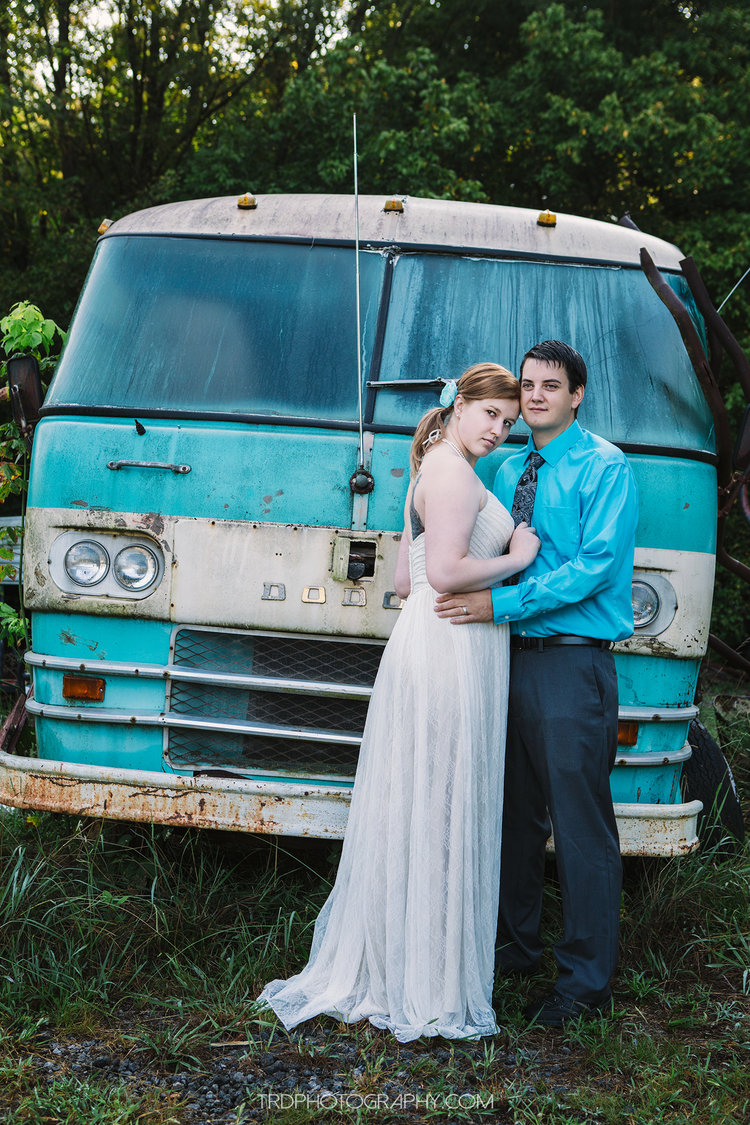 Old Car City USA - Wedding Portraits with Katie & Adam — TRD Photography