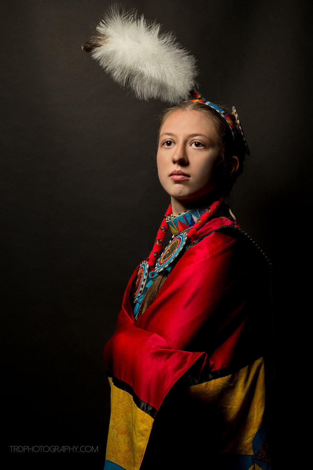 Native American Portrait Series - Teah Plumlee - TRD Photography