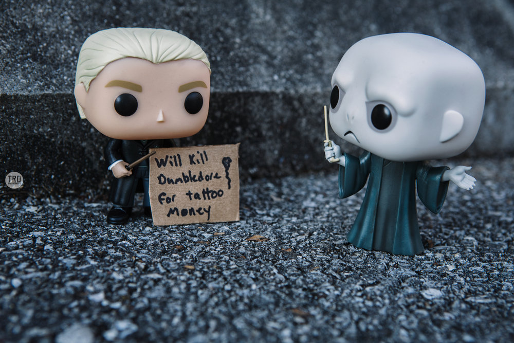 Draco's Wish for Killing Dumbledore.....Pop Toy photography by TRD Photography