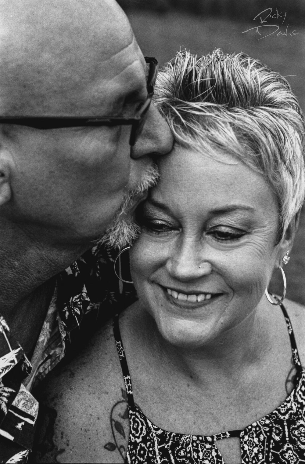 Ricky Davis - Couples Photographer - TRD Photography - Kodak Tri X
