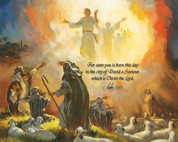 Luke 28 14 The Angels Announce Jesus Birth To The Shepherds – Jesus Birth Announcement