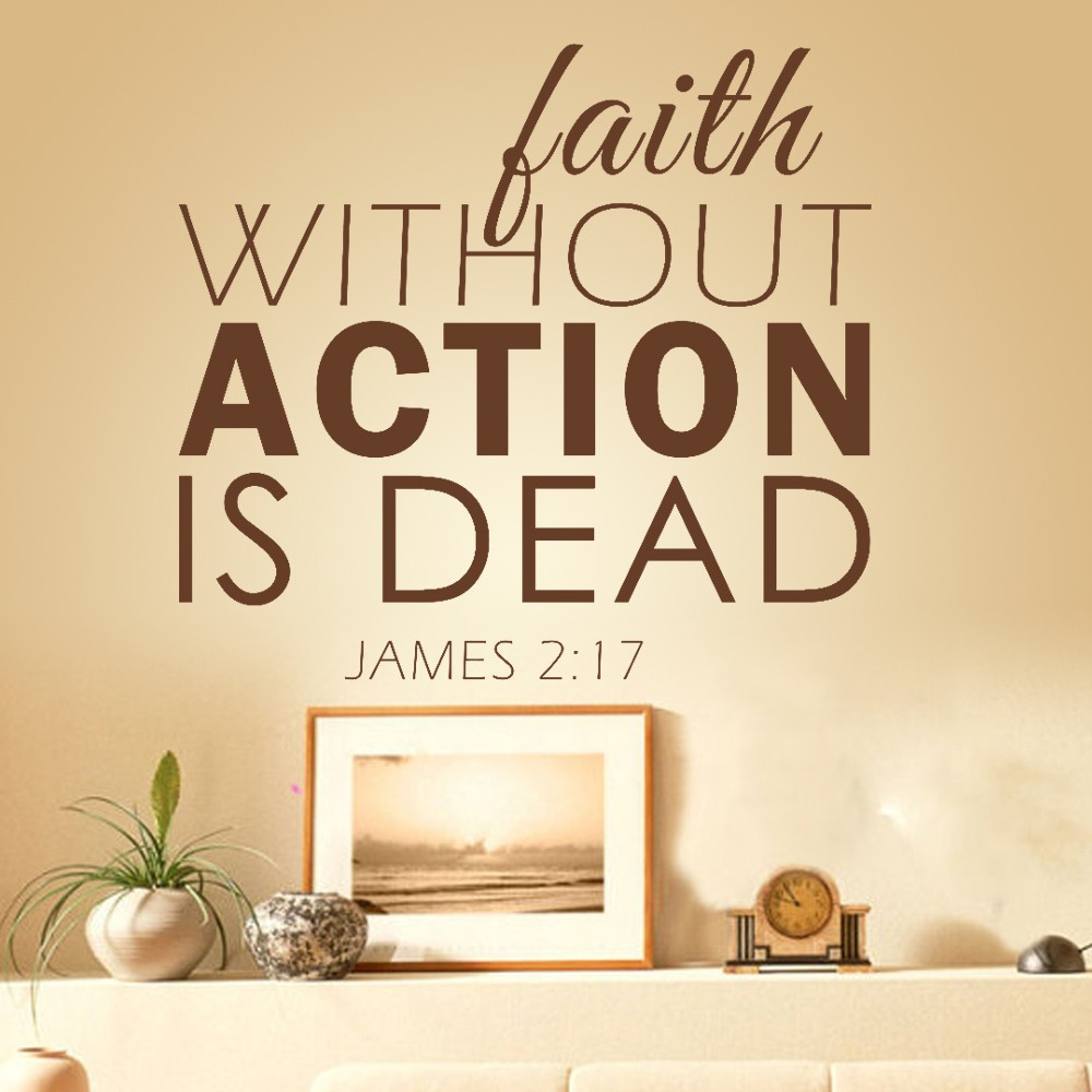 James 2 14 17 Faith Is Action Not Talk Tell The Lord