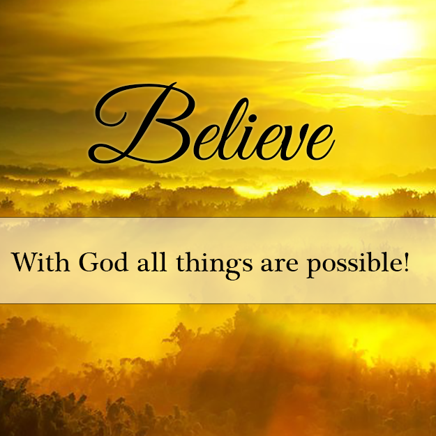 Matthew 921 Believe Tell The Lord Thank You