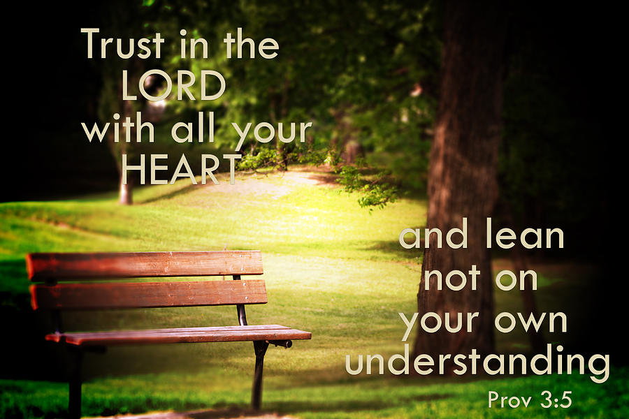 Proverbs 35 6 Trust God Tell The Lord Thank You