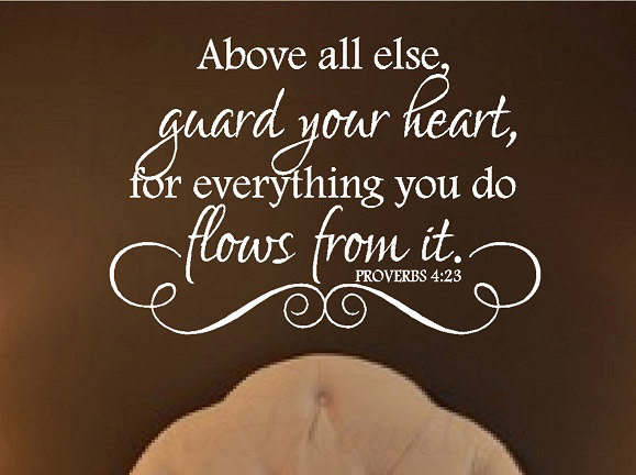 Proverbs 4:23 What Is Pouring Out Of The Faucet Of My
