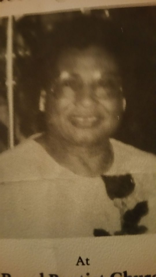 My Mother who went home to be with the Lord. I miss her so much. she was such a loving and kindhearted Christian Woman.