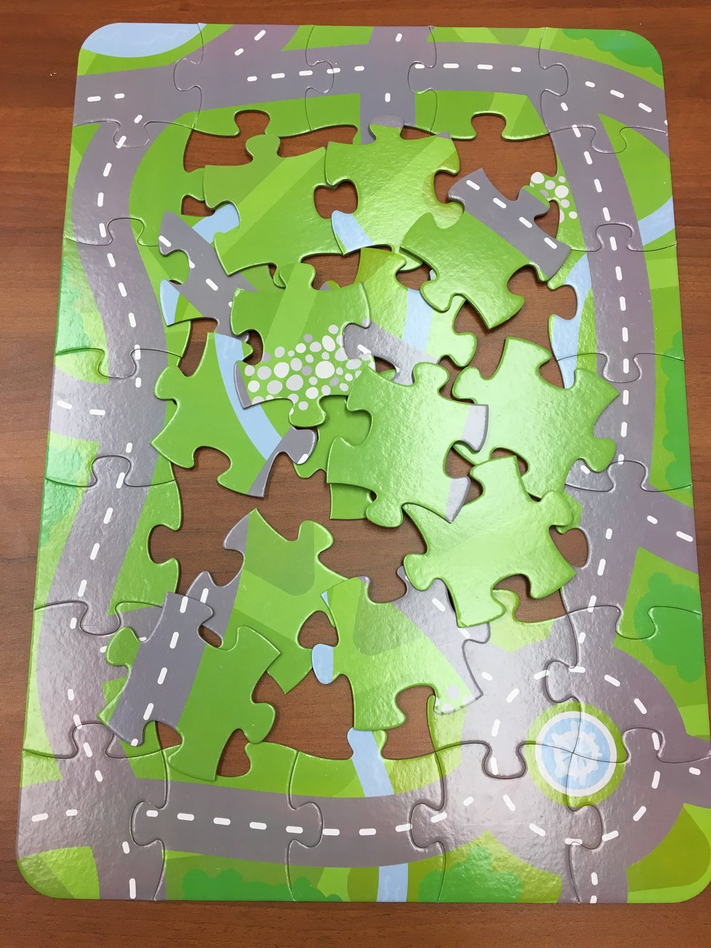Children's Hospital of Pittsburgh of UPMC puzzle map