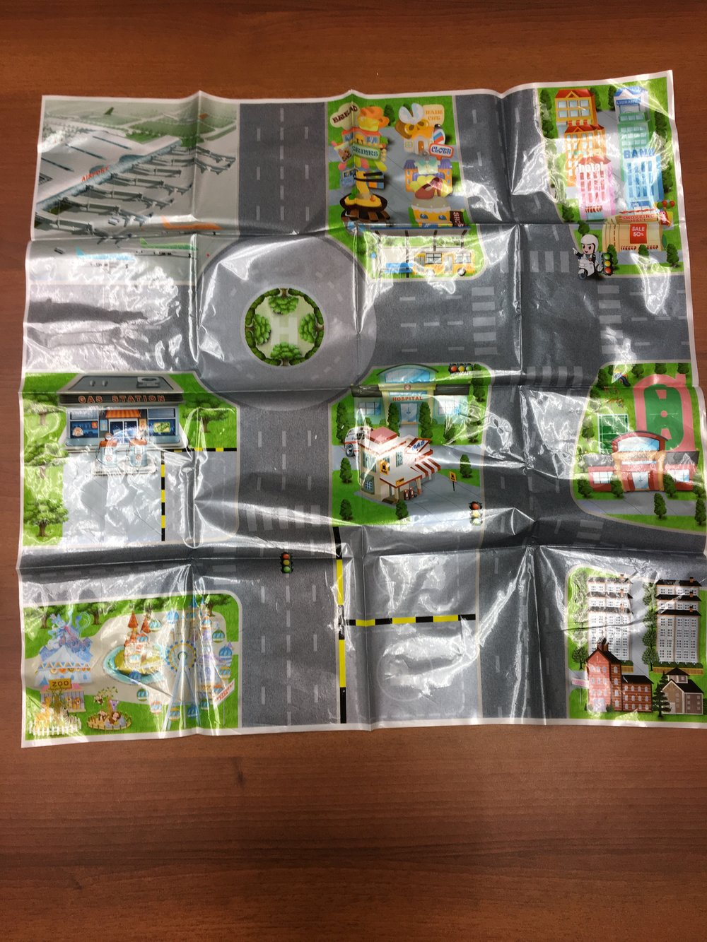 Children's Hospital of Pittsburgh of UPMC foldable map