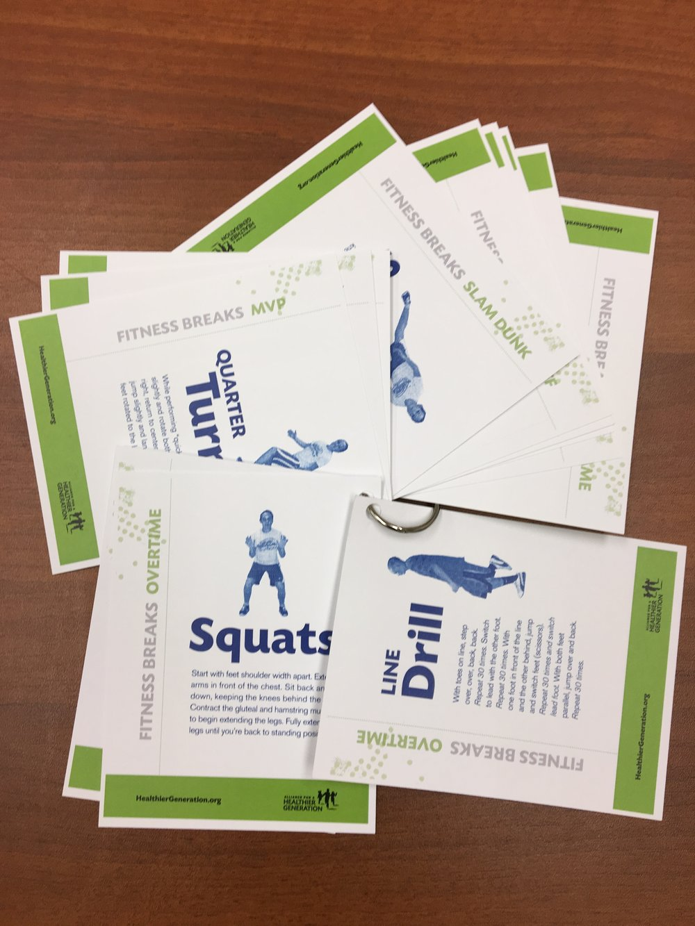 fitUnited Fitness Cards