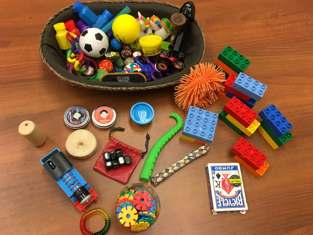 Playful Pittsburgh Collaborative Fidget Box for Meetings/Retreats