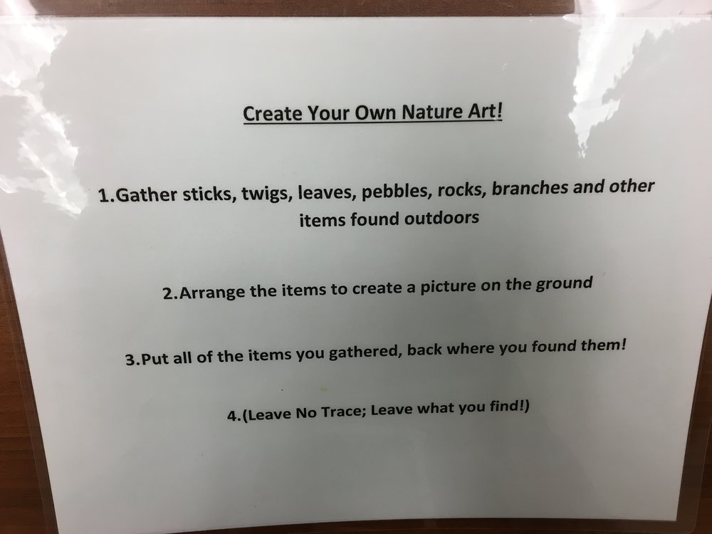 Venture Outdoors Nature Art Prompt