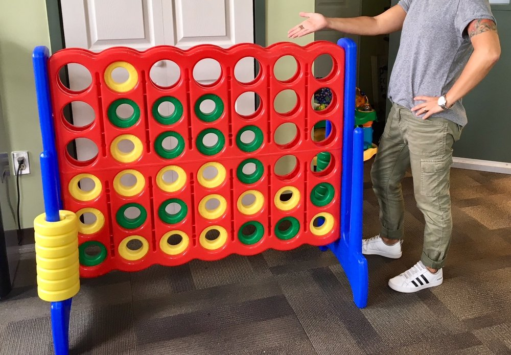 Playful Pittsburgh Collaborative Giant Connect Four