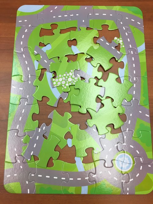 Children's of Hospital of Pittsburgh UPMC puzzle map