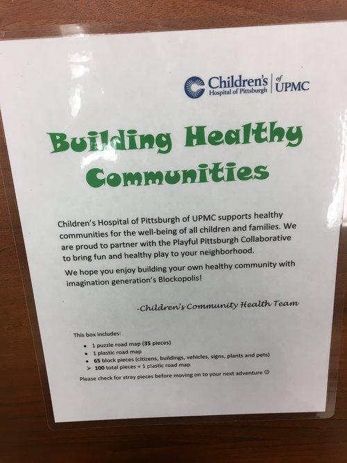 Children's Hospital of Pittsburgh of UPMC play box description