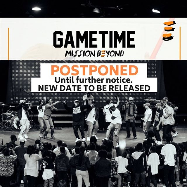 IMPORTANT UPDATE: Because of a great amount of situations out of our control. We have to postpone GameTime Mission Beyond to a later date. Certain things will not stop us from bringing everyone the experience we promised. So a new date will be announced in due time. Ticket holders will be contacted this week! Thank you! You will hear from us soon! .#GameTimeMB -@mindlezzthoughtz