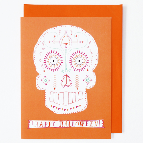 Day of the dead greeting card mr boddingtons studio day of the dead greeting card m4hsunfo