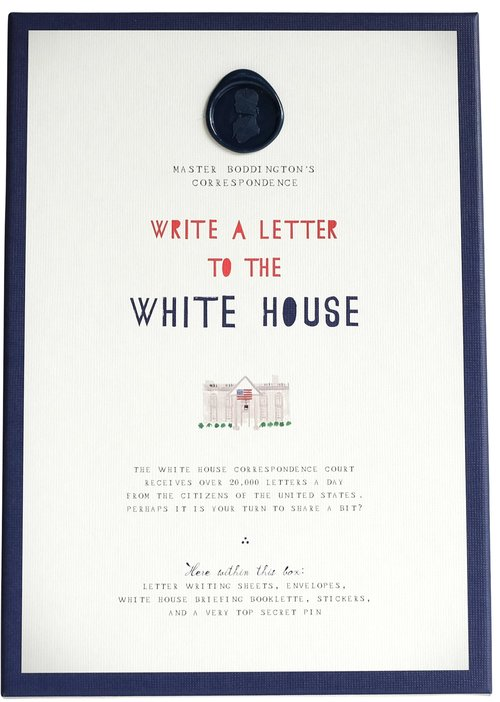 Write to the White House Kit — Mr. Boddington's Studio