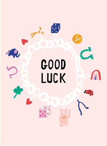 New lucky cat and clover good luck greeting card mr lucky cat and clover good luck greeting card m4hsunfo