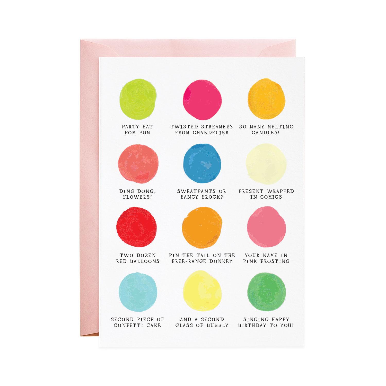 Your Birthday Palette
