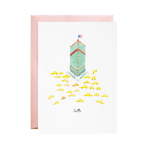 Hello from new york city greeting card mr boddingtons studio hello from new york city greeting card m4hsunfo